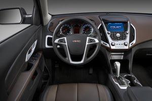 GMC Terrain - interior front - 2010