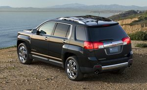 GMC Terrain - rear - 2010
