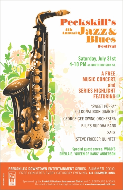 Peekskill-4th Annual Jazz and Blues Festival 31 Jul 10