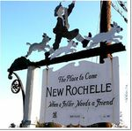New Rochelle Welcome Sign