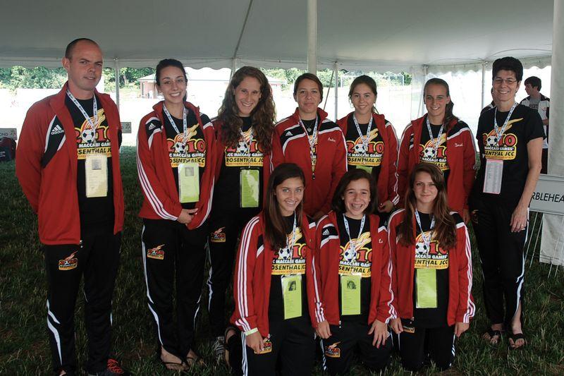 JCC-Rosenthal-MaccabiGames-GirlsSoccerTeam