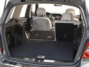 Mercedes Benz GLK350 - 2010 - interior rear