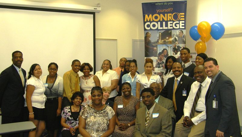 Mt. Vernon HS students @ Monroe College