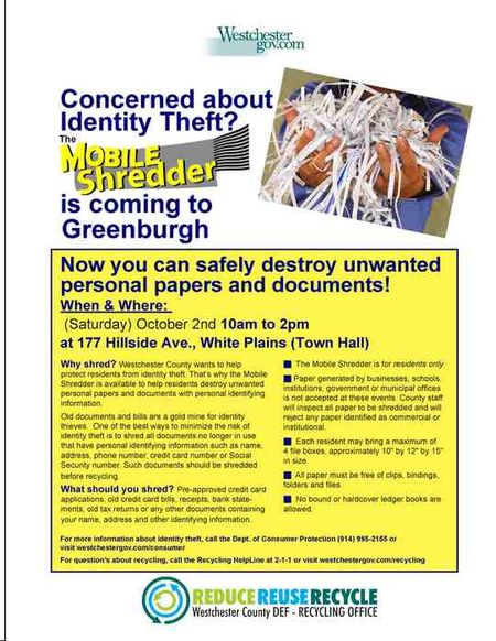 Greenburgh Shredder